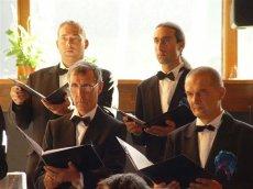 Belle concentration de nos belles basses au concert des Diablerets le 22.07.2007 avec l'Ensemble divertimento