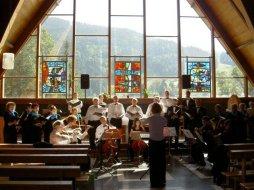 Répétition pour le concert du dimanche 22.07.2007 aux Diablerets