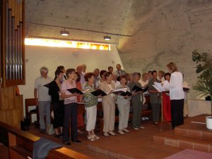 Messe à l'Eglise de Cully le 17.06.2007