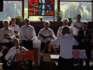 En pleine interprétation: concert du 22.07.2007 aux Diablerets