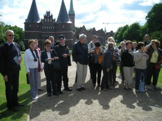 Arrivée à Lübeck