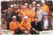 Visite des mines de Travers pour une partie d'entre nous