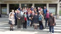 Devant le musée Chopin