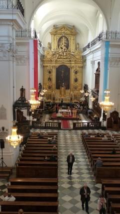 Eglise Sainte Croix à Varsovie